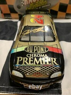 1997 Jeff Gordon and Ray Evernham Dual Autographed DuPont Chroma Premier 1/24