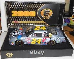 2000 JEFF GORDON #24 SILVER DUPONT NASCAR 2000 124 RCCA ELITE Serial # 4397