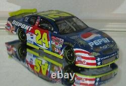 2002 Jeff Gordon #24 DUPONT PEPSI DAYTONA AUTOGRAPHED 1/24 car WithJSA COA RARE