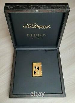 Accendino S. T. DUPONT GATSBY AFRIKA LIMITED EDITION 0527/2000 RARISSIMO