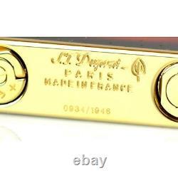 Accendino S. T. Dupont 16102 Fender Stratocaster Sunburst Limited Edition Numerata