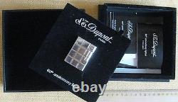 Accendino da tasca 60° anniversario DUPONT linea 1 limited edition con Solitario