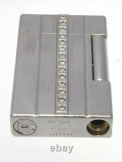 Authentic Rare St Dupont Night Light 2000 Diamonds Limited Edition Lighter
