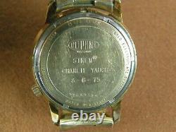 BULOVA ACCUTRON 2181 1974 Dupont Employee Presentation 10K Rolled Gold Plate