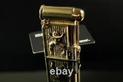 Dupont Skulls Cowboy Feuerzeug Lighter Aschenbecher Bronze Limited Edition 111