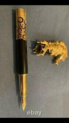 Dupont pen, limited edition, gold 18 carat, 75/88, only 88 in the world