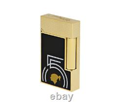Lighter St Dupont Ligne 2 Cohiba 55 C16055 in gold double flame limited edition