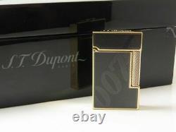 Limited Edition S. T. DUPONT James Bond 007 016169 Black Laquer Lighter NEW