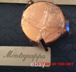Montegrappa Fortuna Table Clock Pvd Rosegold Idfotcrb Msrp $395 Limited Edition
