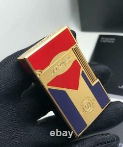 New style S. T. Dupont Cigar Club Cuban Flag Ligne 2 Lighter Limited Edition
