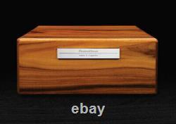 Prometheus Limited Edition Milano Series Macassar Ebony Humidor 100 Count Bnib