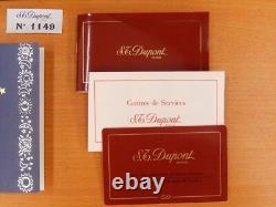 RARE S. T DUPONT Original Lighter Rendez Vous SUN SOLEIL Limited Edition