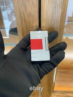 Rare Limited Edition Dupont Red Laquer Lighter