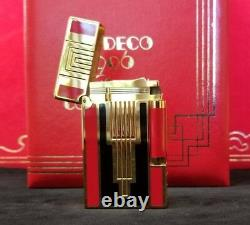 Rare Limited Edition S. T. Dupont 1996 Art Deco Ligne 2 Lighter #552/2500