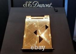 Rare Limited Edition S. T. Dupont Afrika Jeroboam Table Lighter #16/100