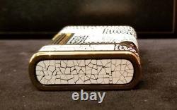 Rare Limited Edition S. T. Dupont Eggshell Art Deco Maki-E Soubreny Lighter