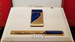 Rare Limited Edition S. T. Dupont Europa Lighter and Pen Set #918/4000