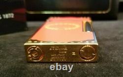 Rare Limited Edition S. T. Dupont Hoyo de Monterey Ligne 2 Lighter