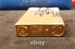 Rare Limited Edition S. T. Dupont Sun Rendezvous Ligne 2 Lighter #2131/2500