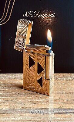 S. T. DUPONT AFRIKA / AFRICA Limited Edition #0936/2009 Ligne 2 Lighter