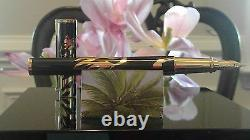 S. T. DUPONT Cheval Large Limited Edition Yellow Gold Fountain Pen 141856 $2700