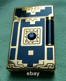 S. T. DUPONT Feuerzeug Lighter Nuevo Mundo Limited Edition 1998 Original
