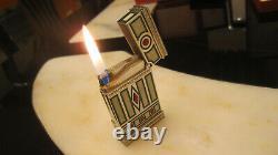 S. T. DUPONT Feuerzeug Linie 2 groß Limited Edition MEDICI Feiner Zustand