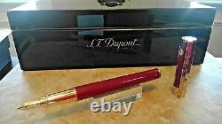 S. T. DUPONT Limited Edition Goat Fountain Pen 141197 Retail $2,380.00 offers