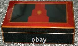 S. T. DUPONT ZIGARREN HUMIDOR MAHARADJAH LIMITED EDITION 1996 nur 500 Stück