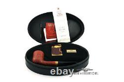 S. T. Dupont 130th Anniv. Castello Limited Edition Briar Pipe & Lighter #101/130