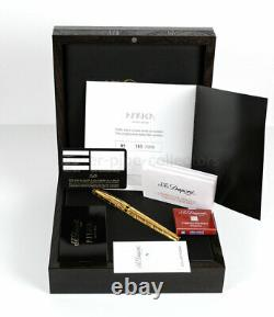 S. T. Dupont Africa Limited Edition Fountain Pen (2001) New In Box