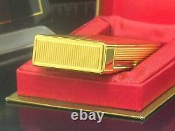 S. T. Dupont Anniversary 50 Yellow Gold Limited Edition JUBILE Oil Lighter