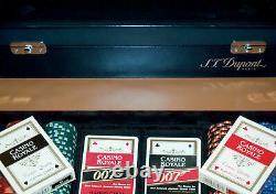 S. T. Dupont Casino Royale 007 Limited Edition 2006 POKER SET Nr. 133 JAMES BOND