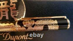 S. T. Dupont Dragon Rollerball pen Limited Edition rare