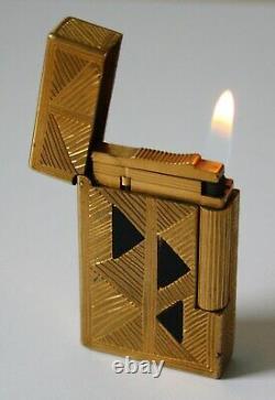 S. T. Dupont Feuerzeug Afrika / Africa Linie 2 Limited Edition 2001 Lighter