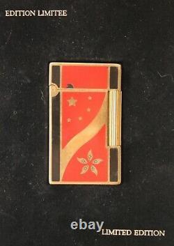 S. T. Dupont Feuerzeug Hong Kong Limited Edition 1997 Lighter