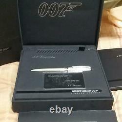 S. T. Dupont James Bond 007 Limited Edition Ballpoint Pen Paradum withbox Japan