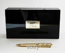 S. T. Dupont James Bond Limited Edition 007 Ballpoint Pen, 415047, New In Box