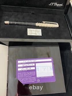S. T. Dupont Le Crocodile Limited Edition Fountain Pen