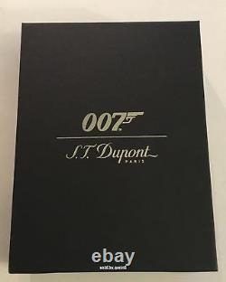 S. T. Dupont Limited Edition 007 James Bond Maxijet Lighter 020167N, New In Box