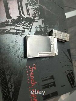 S. T Dupont Limited Edition French Line Anthracite Body Ligne 2 Lighter
