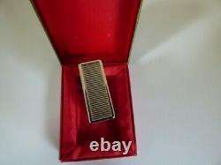S T Dupont Limited Edition JUBILE Petrol Lighter-Original Box Mint Condition
