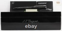 S. T Dupont Limited Edition James Bond Spectre 007 Black Pvd Ball Point Pen Great