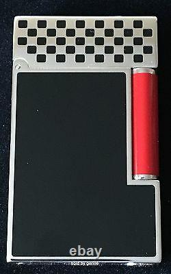 S. T. Dupont Limited Edition Ligne 2 Race Machine Lighter, 16152RM, New In Box