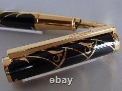 S. T. Dupont Limited Edition Neo Classique American Art Deco Large Fountain Pen