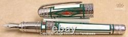 S. T Dupont Limited Edition Olympio Medici Fountain Pen And Lighter Dual Set Rare