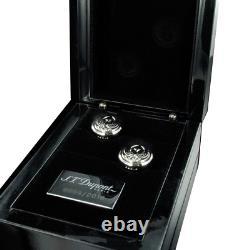S. T. Dupont Limited Edition Phoenix Renaissance 005523 Palladium Cufflinks