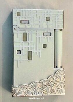 S. T. Dupont Limited Edition Shanghai Diamond Edition Lighter, 016188, New In Box