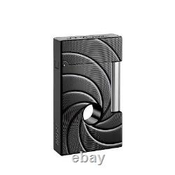 S. T. Dupont Line 2 Limited Edition James Bond 007 PVD Lighter 016157, New In Box