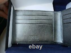 S. T. Dupont Line D STAR WARS Wallet, Grey, Leather, Limited Edition